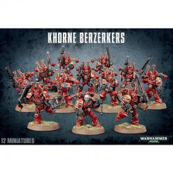 Khorne Berzerkers - Chaos...