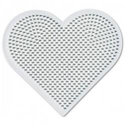 Hjärta - Hama Mini Pärlplatta