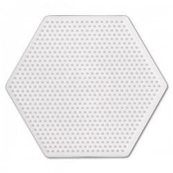 Hexagon - Hama Mini Pärlplatta
