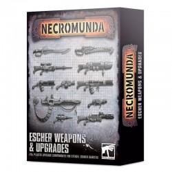 Escher Weapons and Upgrades