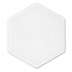 Hexagon - Hama Midi Pärlplatta