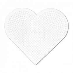 Hjärta - Hama Midi Pärlplatta