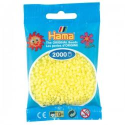 Hama Mini nr 43 - Pastellgul