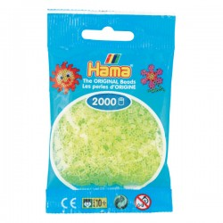 Hama Mini nr 34 - Gul Neon