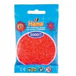 Hama Mini nr 35 - Röd Neon