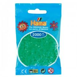 Hama Mini nr 37 - Grön Neon