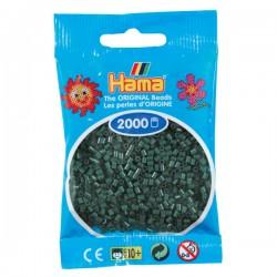 Hama Mini nr 28 - Mörkgrön