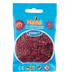 Hama Mini nr 30 - Mörk Vinröd